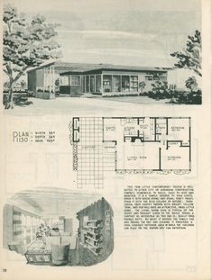 Elegant Home Decor, Retro Home Decor, Elegant Homes, Vintage Decor, Ikea Raskog, Small House Plans, House Floor Plans, Modern Floor Plans, Midcentury Modern House Plans