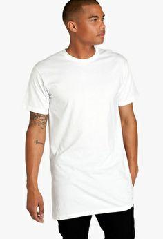 Tall white tee - $31