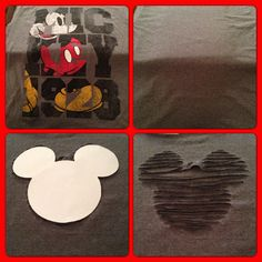 Tshirt cutting -- visitors could make a stencil of a shape of their choosing