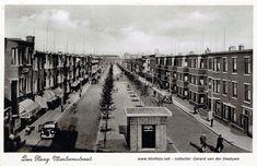 Vlierboomstraat gezien vanaf de Appelstraat, rond 1939 The Hague, Railroad Tracks, Netherlands, Om, Louvre, Building, Travel, Pictures, Nostalgia