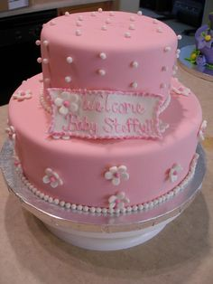 A Chance of Showers can create a Baby Shower theme around this lovely cake. Like A Chance of Showers on facebook! http://www.facebook.com/chanceofshowersonline