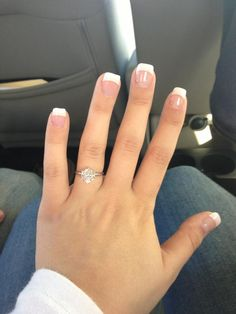 Stole this from a friend. But I think I've found my dream ring Shellac Nails, Acrylic Nails, Acrylics, Sqaure Nails, Feet Nail Design, Uñas Diy, Dipped Nails, French Tip Nails, Birthday Nails