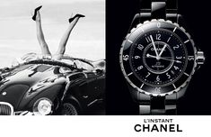 New #chanel #horlogerie advertising campaign