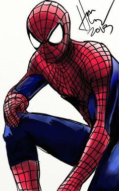 Drawing by Han Zolebot Miles Morales Spiderman, Spider Man 2, Quick Draw, Amazing Spider, Ark, Random Stuff, Geek Stuff, Marvel, Superhero