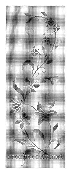 filet fiori schema