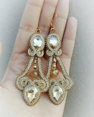 soutache earrings - Hľadať Googlom