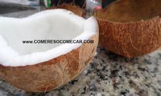 SUPER DICA: COMO RETIRAR O COCO DA CASCA INTEIRO E SEM ESFORÇO - Receitas Culinárias