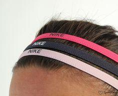 Nike - Elastic Hairband Large (3Pk) - Svettebånd - Rosa/Svart | www.sportamore.no online | Sportamore.no – Mote på nett