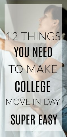These college move in day hacks, tips, and tricks will save your life on the big day. When you're moving your teen into their first college apartment or dorm, you'll want these 12 things to make it so much easier. Dorm Hacks, College Hacks, School Hacks, College Life, College Moving Tips, College Supplies, Boston College, City College, College Board