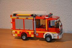 Lego City Fire Engine 09 (new) Tel Aviv Fire Service Israel Lego City Fire, Lego Fire, Lego City Sets, Lego Sets, Lego Technic Truck, Lego Photo, Lego Moc, Fire Engine, Tel Aviv