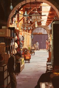 Quiet time in the Marketplace (Cairo)