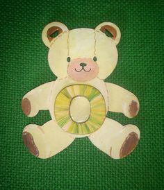 little brown stitched bear by ArtZeeboze on Etsy