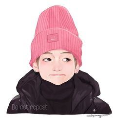 Fanart cute fl me: Taehyung Fanart, V Taehyung, Bts Chibi, Bts Memes, Kpop Drawings, Korean Art, Bts Fans, Kpop Fanart, Vmin