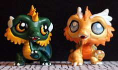 LPS customs: Rampart Dragons (HoMM3) by pia-chu.deviantart.com on @DeviantArt