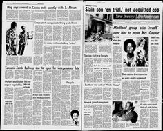 Washington Afro-American Red Star Edition - Google News Archive Search