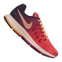 new concept a77fd 09629 Nike Air Zoom Pegasus 33 Running Enfant, Rouge-orange Rouge indien Couleur