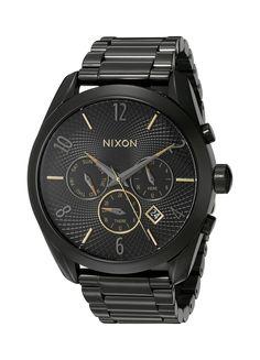 Nixon Women's A3661616 Bullet Chrono Analog Display Analog Quartz Black Watch *** Visit the image link more details.