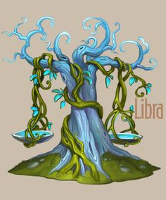 Amazing Zodiac Trees.