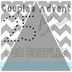 Hello Lovelies! This morning I was chatting with one of my bloggy friends Mel via facebook. She asked me if I had any ideas for activities for a couples advent. At the time I didn't, but I thought it