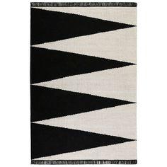 black and white triangle carpet at DuckDuckGo Black And White Carpet, Black And Grey Rugs, Dark Grey Rug, Brown Rug, Orange Rugs, Red Rugs, Sisal, Best Weave, Handmade Rugs