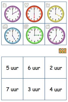 Cooperative Learning, Kids Learning, Time Unit, College Crafts, Birth Art, Kids Study, Teaching Time, Mini, School Posters