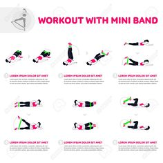 Fitness Aerobic and workout exercise in gym. Vector set of gym. - Icon People - Ideas of Icon People - Fitness Aerobic And Workout Exercise In Gym. Vector Set Of Gym. Royalty Free Cliparts Vectors And Stock Illustration. Resistance Workout, Resistance Band Exercises, Aerobic Exercises, At Home Workout Plan, At Home Workouts, Mini Band Exercises, Gym Icon, Aerobics Workout, Fitness Studio