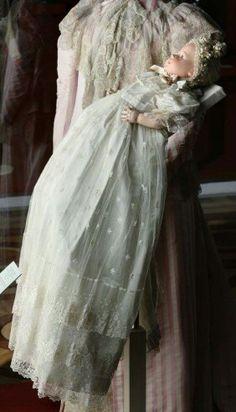 """Dress worn by the Tsarevich Alexei Nikolaevich Romanov of Russia in 1904. """"AL"""""""