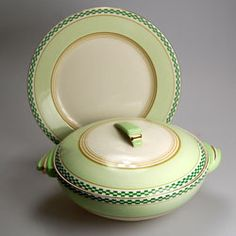 Art Deco Wedgwood & Co Tureen and Serving Plate