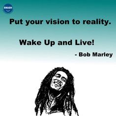 Put your vision to reality. Wake Up and Live! visit www.bmabh.com for more inspirational quotes. Be Motivated And Be Happy - bmabh.com