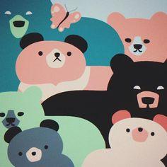 #workinprogress #sketch #illustration #fun #bear #polkkajam