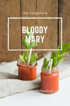 Bloody Mary Rezept - endlich den leckeren Cocktail selbst machen. So kannst du deinen Staudensellerie lecker verwerten und gesunden Tomatensaft trinken - lecker und einfach!  #cocktail #bloodymary