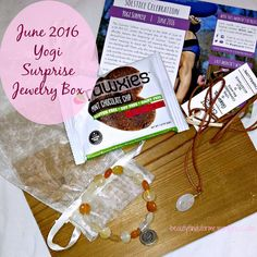 I now have two Yogi Surprise subs! One is for their lifestyle box, which I will be receiving next week and the other is my jewelry sub, which I have been sub'd to since last fall.  They u…