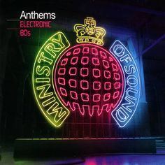 Ministry Of Sound - Electronic 80s, CD Cover