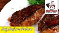 Receita de Baby Beef com Barbecue - Tv Churrasco