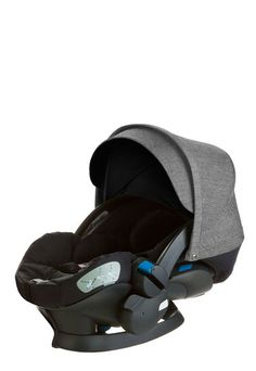 Stokke® iZi Sleep™ X3 by BeSafe® allows your baby to recline for rest or slumber when outside the car.  This ultra plush car seat includes an adjustable 5 point safety harness, an integrated sun canopy and soft padding for exceptional comfort and added protection. It can also be used as a stroller seat with Stokke® Xplory® and Stokke® Crusi™ strollers without the use of adaptors. It simply clicks right onto the chassis. Available in colours to match for superior styling. With Stokke® iZi ...