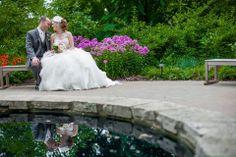 Morton Arboretum Wedding. Justin Alexander 8640. Just Love Me {Photography + Design}.