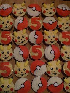 pokemon cup cakes