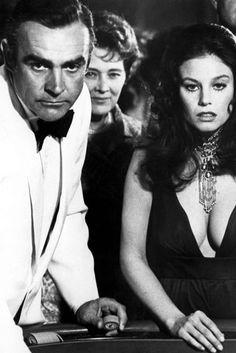 Sean Connery, Roger Moore, Daniel Craig, Best Bond Girls, James Bond Women, Adrienne Barbeau, Gena Rowlands, Bond Series, Faye Dunaway