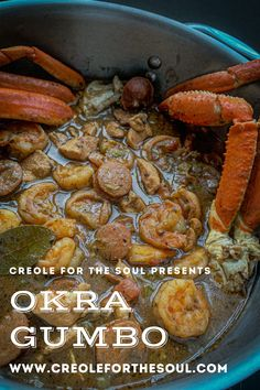 There are so many different gumbo variations, so why not add another! Fresh seafood, chicken and sausage, in a deep okra roux with the perfect amount of spice.