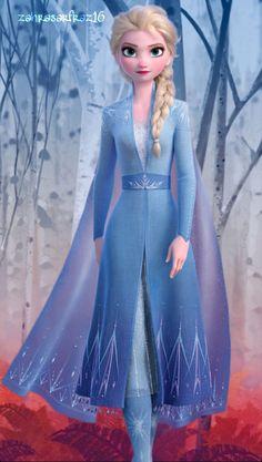 Disney Donna Frozen 2 Elsa with Nokk The Water Spirit Boyfriend T-Shirt Fit