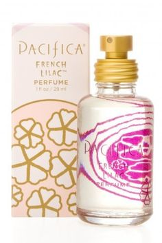 Pacifica French Lilac Spray Perfume by Pacifica. $27.00. Gluten-free. Made in the USA. Not tested on animals. I am always wonderfully surprised when I smell the first blooms of spring lilacs. It is as if each year I forget how amazing this flower smells. But the fleeting blossoms, symbolic of the first moments of love, innocence and purity, are soon just a memory. This joyful blend attempts to capture that blissful time and place. Fun, fresh and fantastic, Pacific...