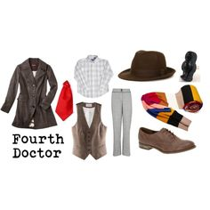 A fashion look from November 2011 featuring long wool coat, h&m vest and gray trousers. Browse and shop related looks. Eccentric Style, Long Wool Coat, Grey Trousers, Fandom Fashion, Inspired Outfits, Mad Men, Cosplay Ideas, Doctor Who, Fashion Looks