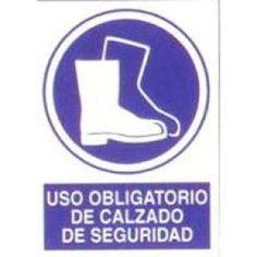 Señal Uso Obligatorio de http://www.janfer.com/es/obligacion/616-senal-uso-obligatorio-calzado-de-seguridad.html