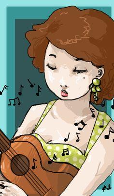 deviantART: More Like Ukulele Doodles by ~AccioHagrid
