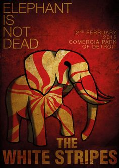 Elephant is not dead - The white stripes