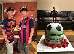 '18세 생일' 이승우, 바르사 정식 유니폼 인증, 네이버 스포츠