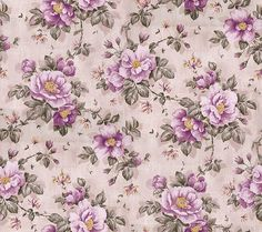 pink roses pattern, found on tumblr background