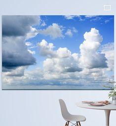 Cumulus wolken aan het Amelandse strand, dreigend en ook mooi wit tegen een blauwe achtergrond. Op een mooie  zomerse juli dag. Strand, Clouds, Prints, Outdoor, Home, Outdoors, Outdoor Games, The Great Outdoors, Cloud