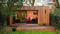 Image result for garden room bottom of garden flat roof
