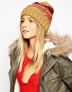The North Face Antlers Bobble Beanie Hat